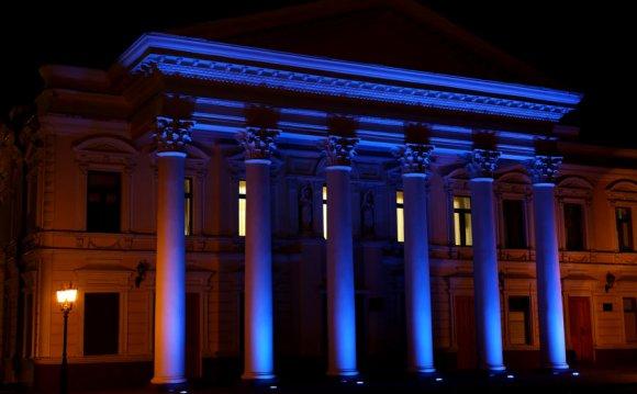 Освещение зданий