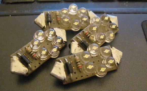 Светодиодные лампы в стойки